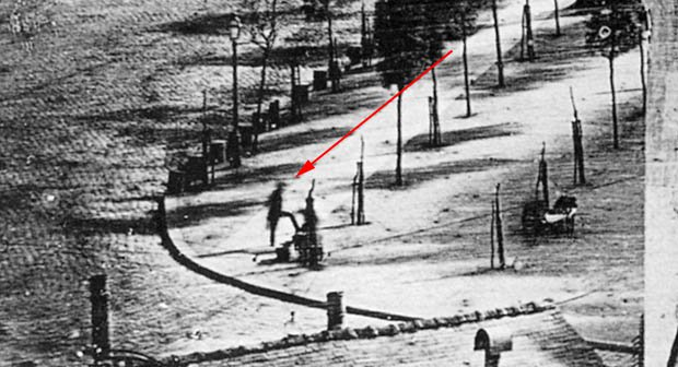 See the First Photograph of a Human Being: A Photo Taken by Louis Daguerre (1838)