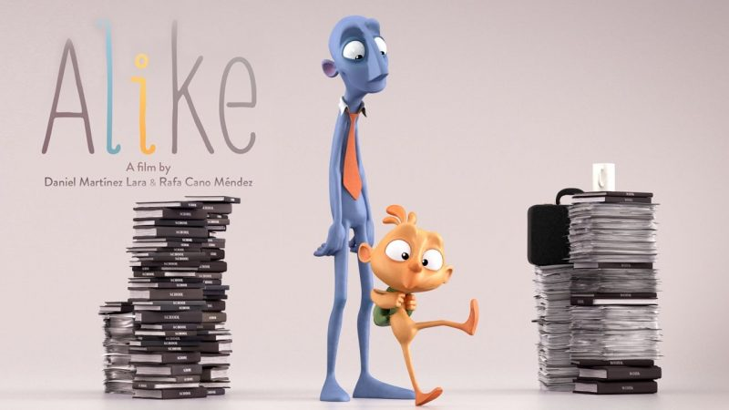 """Watch """"Alike,"""" a Poignant Short Animated Film About the Enduring Conflict Between Creativity and Conformity"""