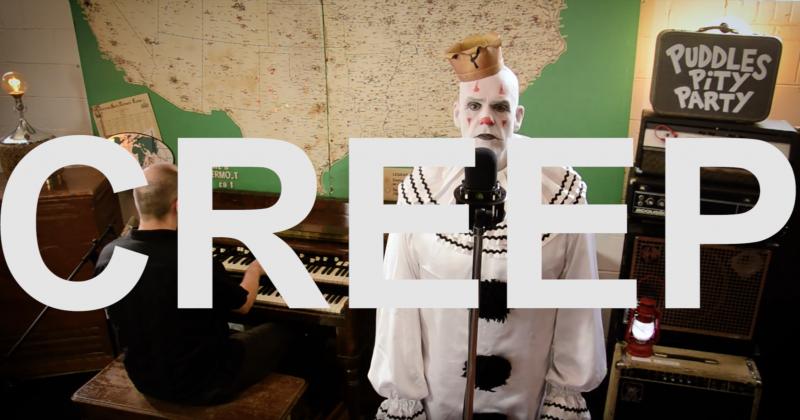 Giant Clown Sings a Creepy Cover of Radiohead?s ?Creep?