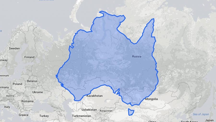 The True Size Maps Shows You The Real Size Of Every Country And