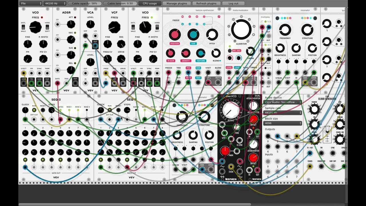 Free, Open Source Modular Synth Software Lets You Create 70s