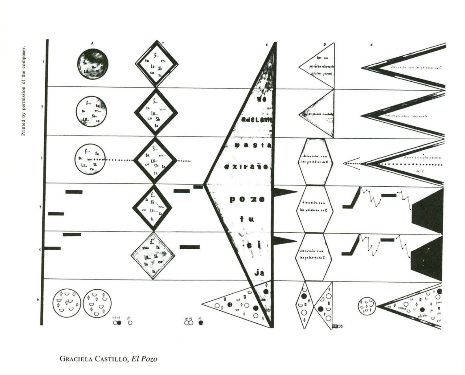 notations john cage publishes a book of graphic musical scores