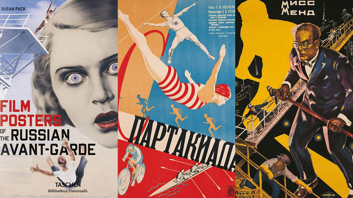 30 best foreign posters for Soviet films