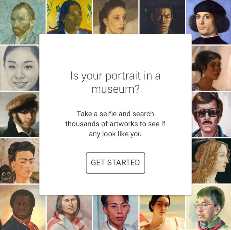 Google's Free App Analyzes Your Selfie and Then Finds Your Doppelganger in Museum Portraits