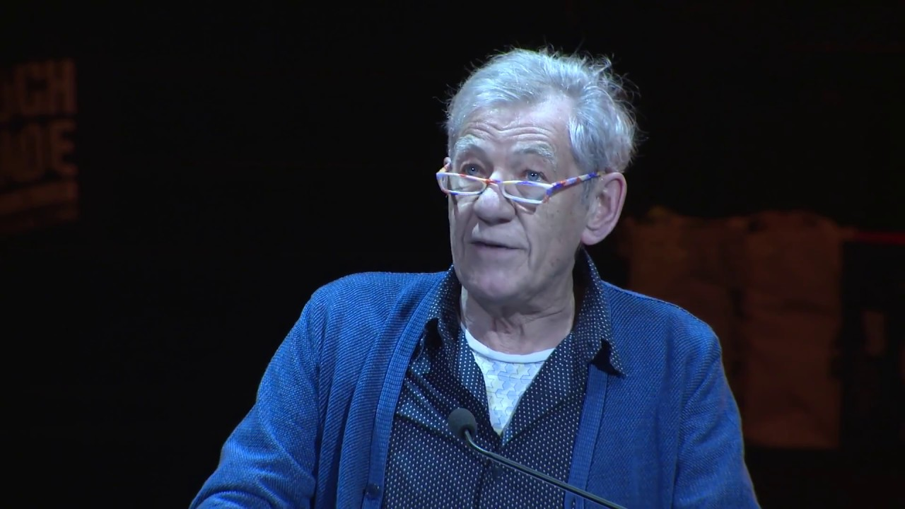 Ian McKellen Chokes Up While Reading a Poignant Coming-Out Letter