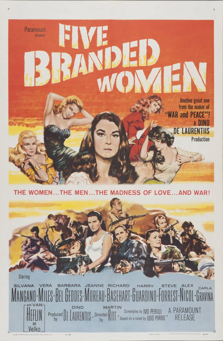 10,000 Classic Movie Posters Getting Digitized & Put Online by the Harry Ransom Center at UT-Austin: Free to Browse & Download Artes & contextos Five Branded Women e1516348110742