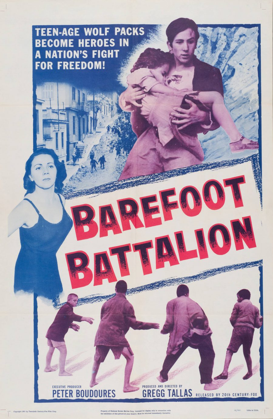 10,000 Classic Movie Posters Getting Digitized & Put Online by the Harry Ransom Center at UT-Austin: Free to Browse & Download Artes & contextos Barefoot Battalion e1516348026668