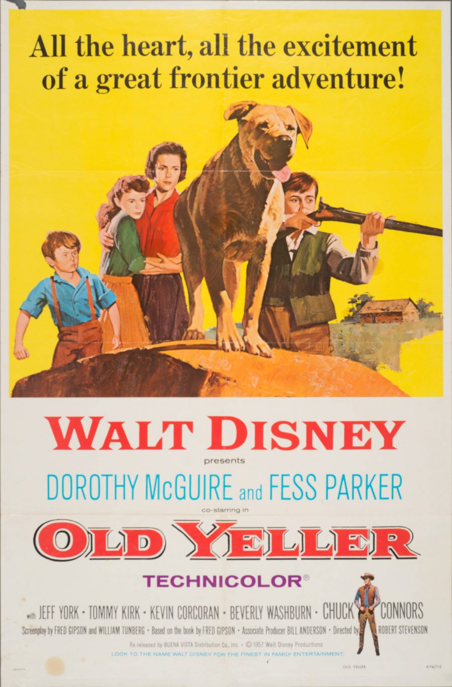 10,000 Classic Movie Posters Getting Digitized & Put Online by the Harry Ransom Center at UT-Austin: Free to Browse & Download Artes & contextos Old Yeller e1516348013879