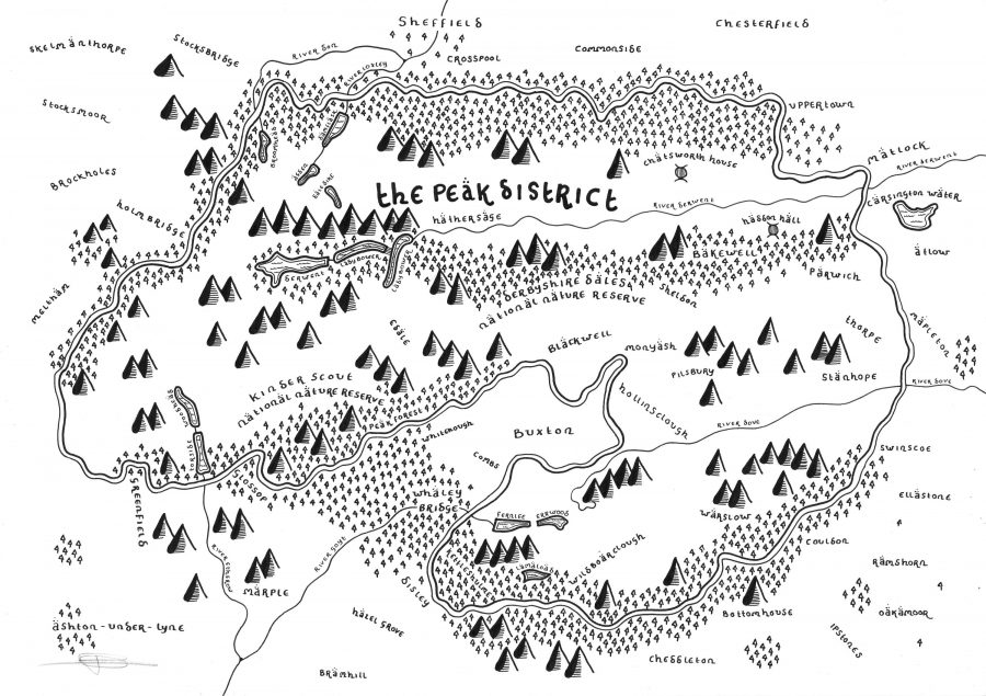 Artist Re-Envisions National Parks in the Style of Tolkien's ... on elves in the hobbit, lotr in the hobbit, gollum in the hobbit, aragorn in the hobbit, arwen in the hobbit, the shire in the hobbit, rivendell in the hobbit,