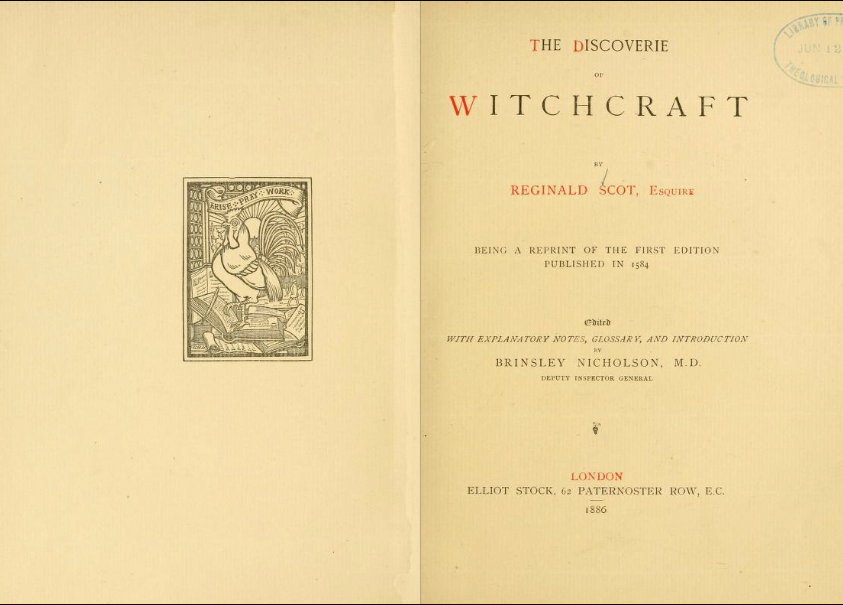 Archives archives page 2 of 14 open culture archive open culture in what other scholarly pursuit after all can one read reginald scot esquires 1584 the discoverie of witchcraft l austine waddells 1805 the buddhism fandeluxe Images