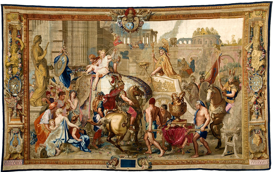How the Ornate Tapestries from the Age of Louis XIV Were Made (and Are Still Made Today) Artes & contextos Tapestry 3
