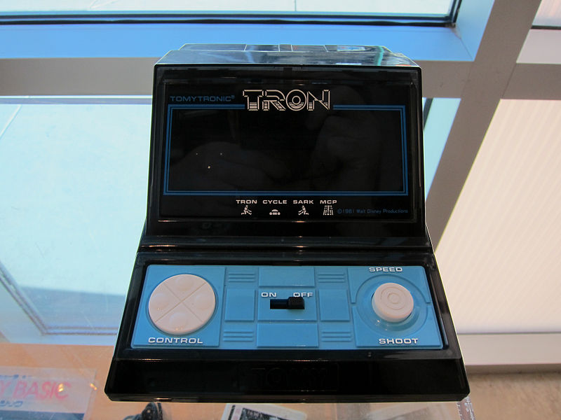 coleco pac man handheld game