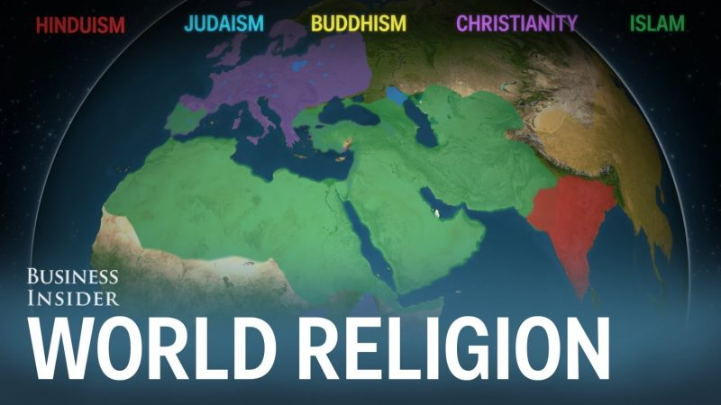 Animated Map Shows How the Five Major Religions Spread Across the ...