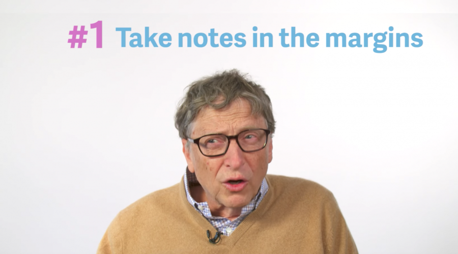 How Bill Gates Gets the Most Out of Reading Books