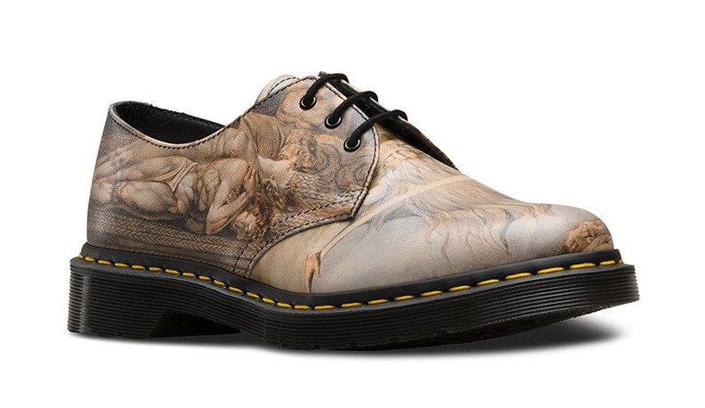 Art Tate Shoes doc martens now come adorned with william blake's art, thanks to a