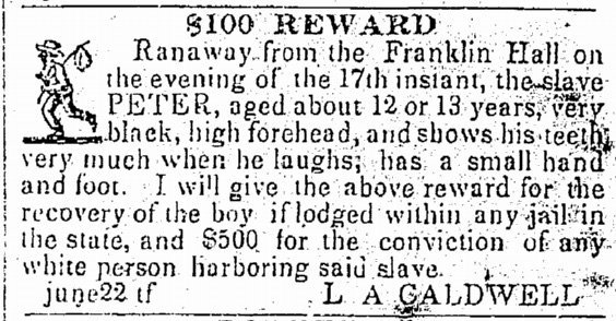 Cornell Creates a Database of Fugitive Slave Ads, Telling the Story