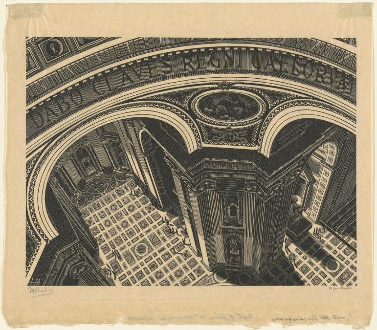 Dozens Of Mc Escher Prints Now Digitized Put Online By