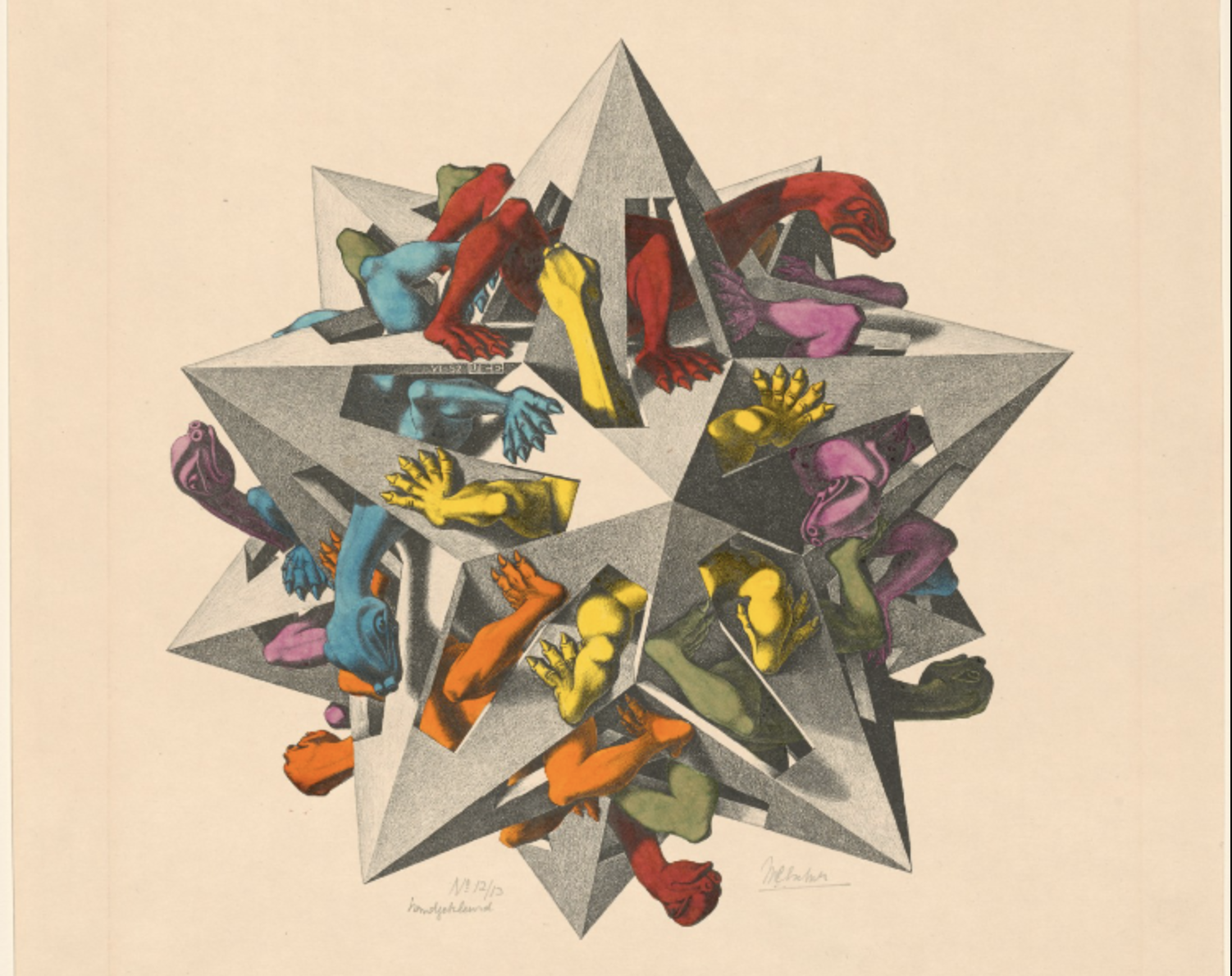 Dozens of M.C. Escher Prints Now Digitized & Put Online by the Boston Public Library