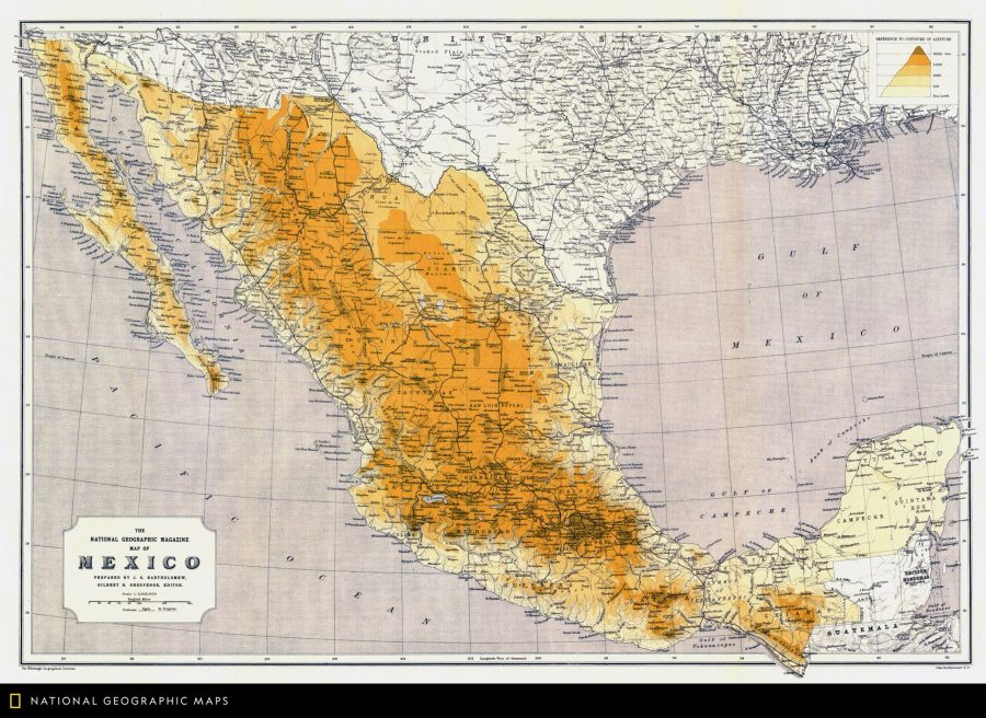 National Geographic Has Digitized Its Collection Of 6000 Vintage - National-geographic-us-map