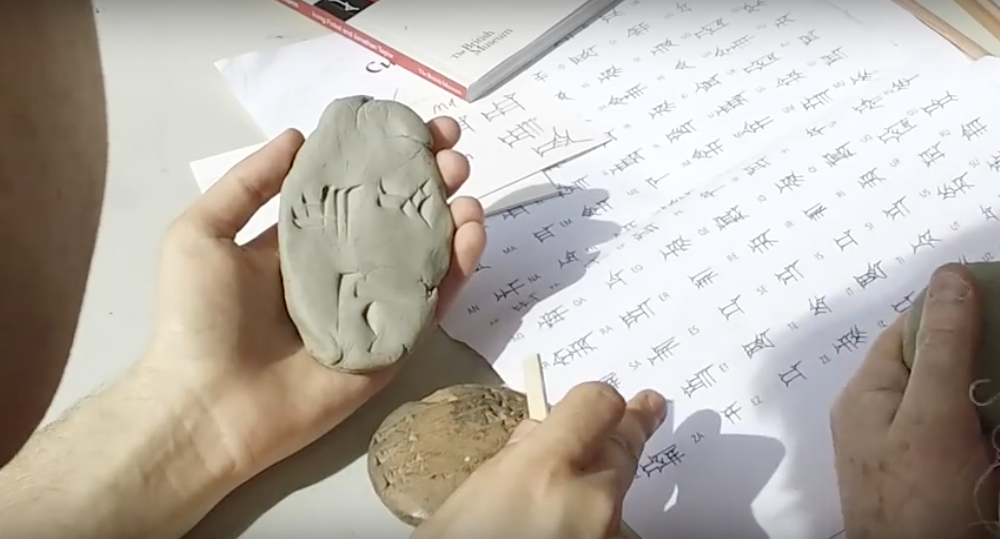 How to Write in Cuneiform, the Oldest Writing System in the