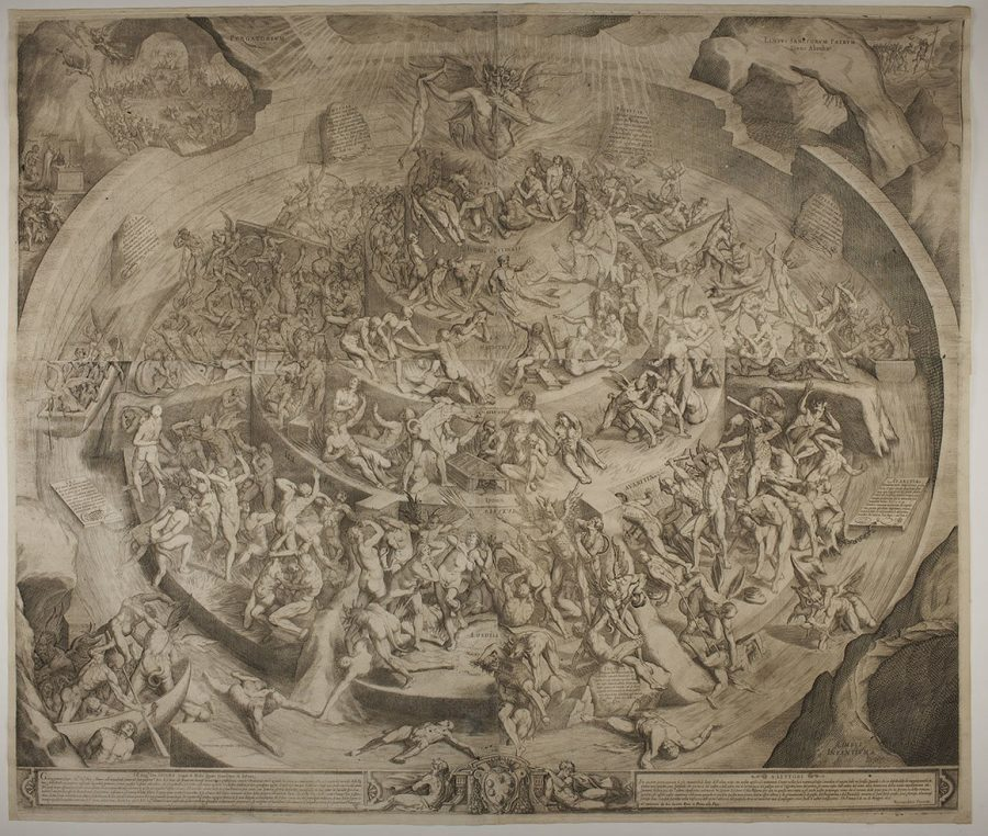 Visualizing Dante's Hell: See Maps & Drawings of Dante's Inferno Artes & contextos Callot Inferno e1528782898928