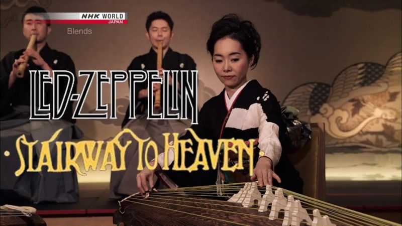 """""""Back in Black,"""" """"Stairway to Heaven,"""" """"Welcome to the Jungle,"""" and Other Classic Rock Songs Played on Traditional Japanese Instruments"""