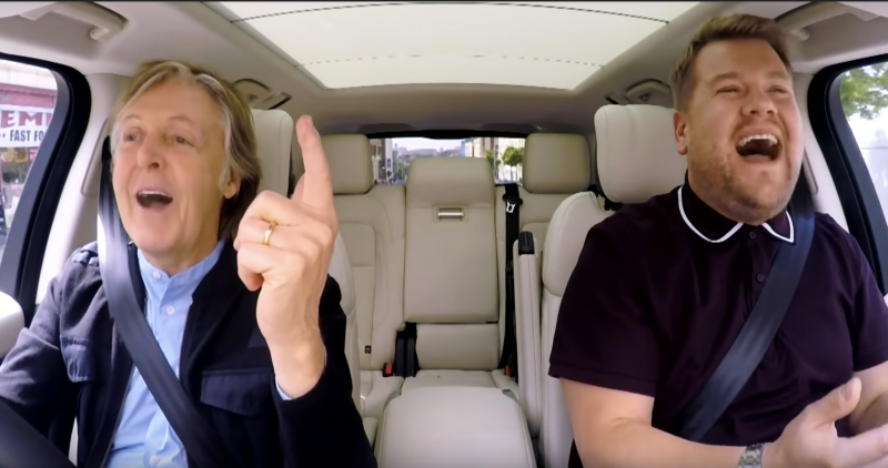 Watch Paul Mccartney Sing Through The Streets Of Liverpool On The