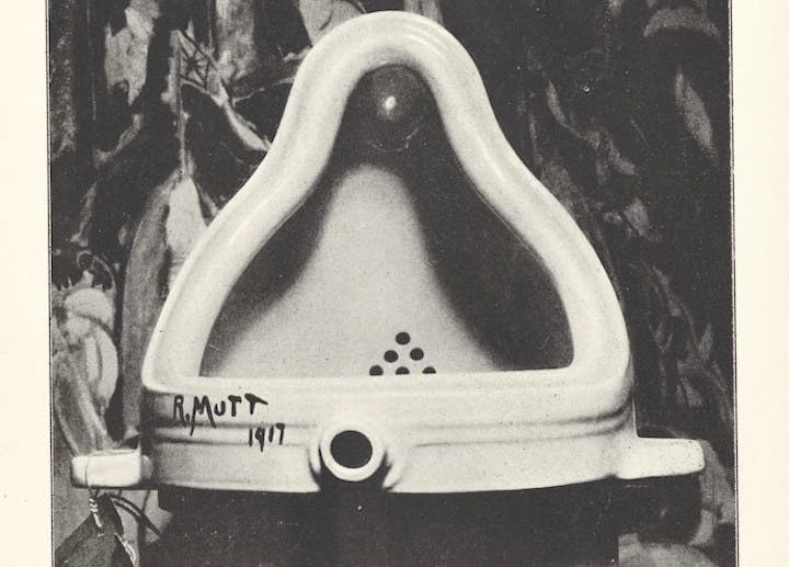 """The Iconic Urinal & Work of Art, """"Fountain,"""" Wasn't Created by Marcel Duchamp But by the Pioneering Dada Artist Elsa von Freytag-Loringhoven"""