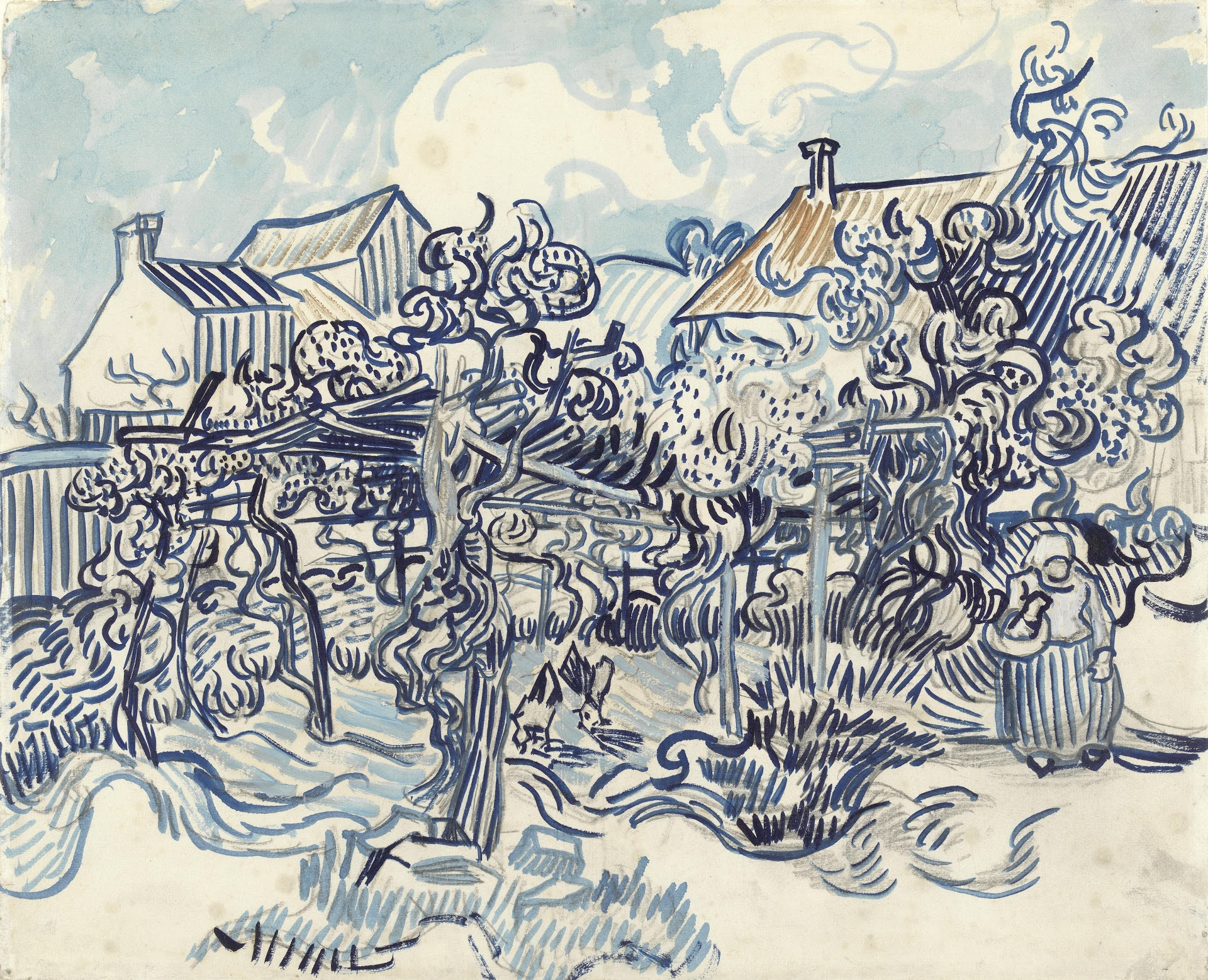 Nearly 1 000 Paintings Drawings By Vincent Van Gogh Now Digitized