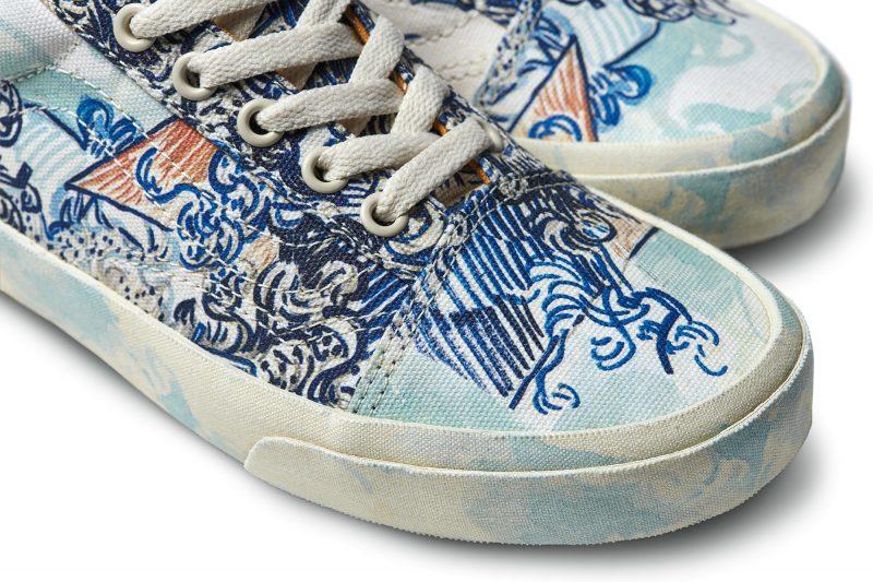 0a9fdec782 Van Gogh s Art Now Adorns Vans Shoes
