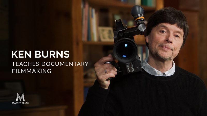 ken burns teaches documentary filmmaking with his new online masterclass open culture. Black Bedroom Furniture Sets. Home Design Ideas