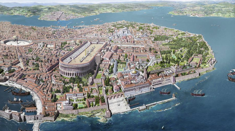 French Illustrator Revives the Byzantine Empire with
