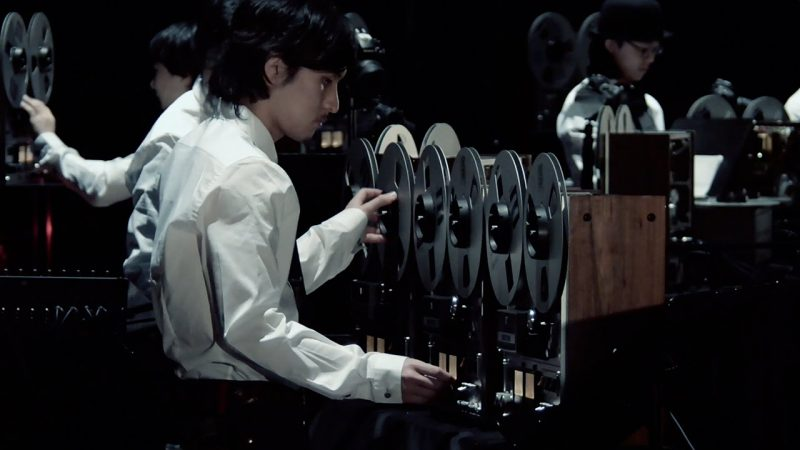 Japanese Musicians Turn Obsolete Machines Into Musical Instruments: Cathode Ray Tube TVs, Overhead Projectors, Reel-to-Reel Tape Machines & More