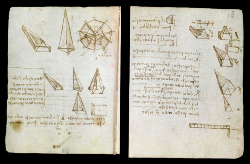 Leonardo Da Vinci S Earliest Notebooks Now Digitized And