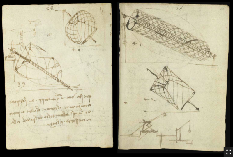 Leonardo da Vinci's Earliest Notebooks Now Digitized and Made Free Online Artes & contextos Leonardo VA5 e1535696764323