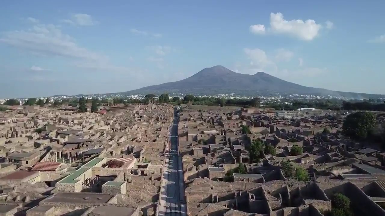 See the Expansive Ruins of Pompeii Like You've Never Seen Them Before: Through the Eyes of a Drone