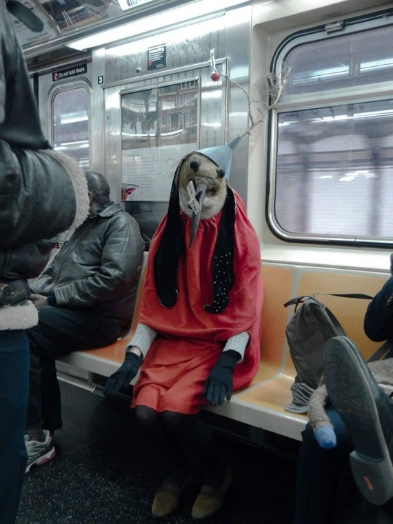 To Me The Great Promise Of Homeschooling Is That One Day Your Child Might On Their Own Initiative Ride New York City Subways Dressed In A Homemade