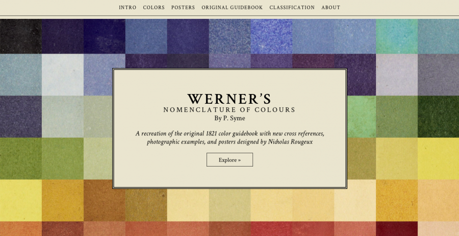 Explore an Interactive, Online Version of Werner's Nomenclature of Colours, a 200-Year-Old Guide to the Colors of the Natural World