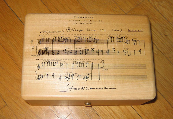 Hear Karlheinz Stockhausen's Pioneering Compositions for Music Boxes