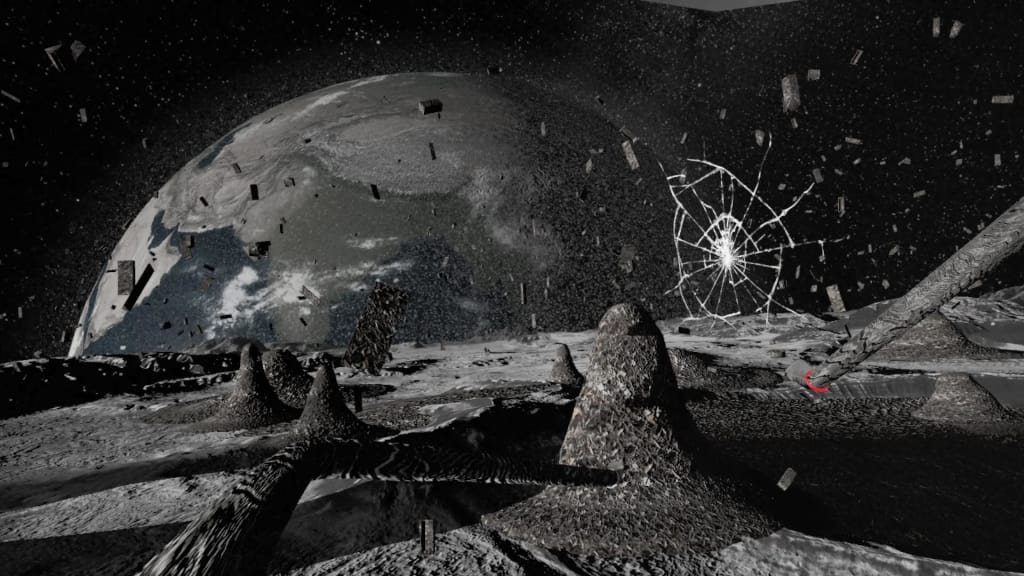 Laurie Anderson's Virtual Reality Installation Takes Viewers on an Unconventional Tour of the Moon