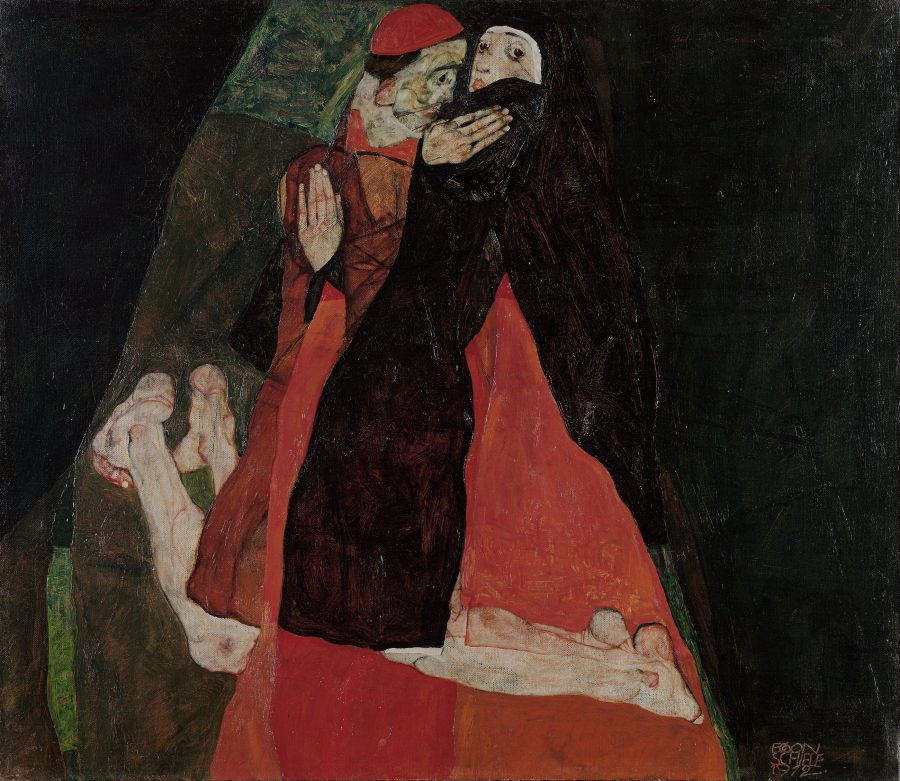 New Digital Archive Will Feature the Complete Works of Egon Schiele: Start with 419 Paintings, Drawings & Sculptures Artes & contextos egon schiele   cardinal and nun caress 1912 expressionism pc e1545638915703