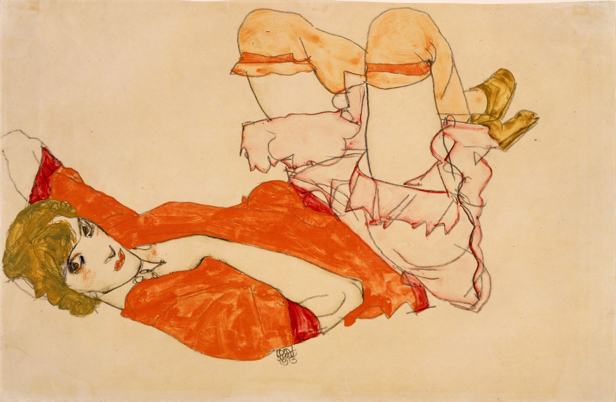 New Digital Archive Will Feature the Complete Works of Egon Schiele: Start with 419 Paintings, Drawings & Sculptures Artes & contextos egon schiele