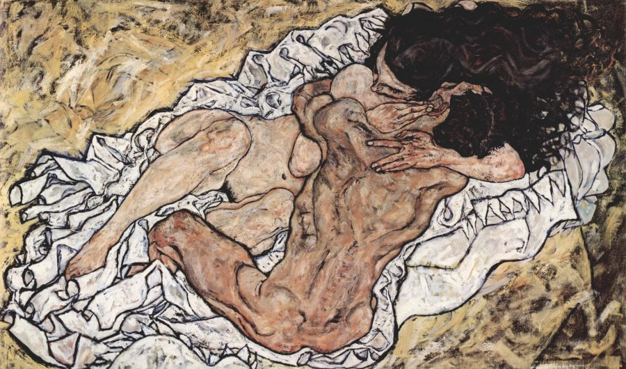 New Digital Archive Will Feature the Complete Works of Egon Schiele: Start with 419 Paintings, Drawings & Sculptures Artes & contextos egon schiele   the embrace 1917 expressionism 98x169cm galerie belvedere austria small e1545638952143