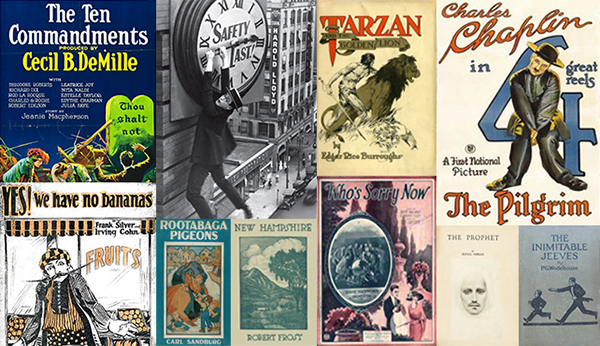 Public Domain Day Is Finally Here!: Copyrighted Works Have Entered the Public Domain Today for the First Time in 21 Years