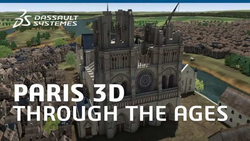 A 3D Animated History of Paris: Take a Visual Journey from Ancient Times to 1900