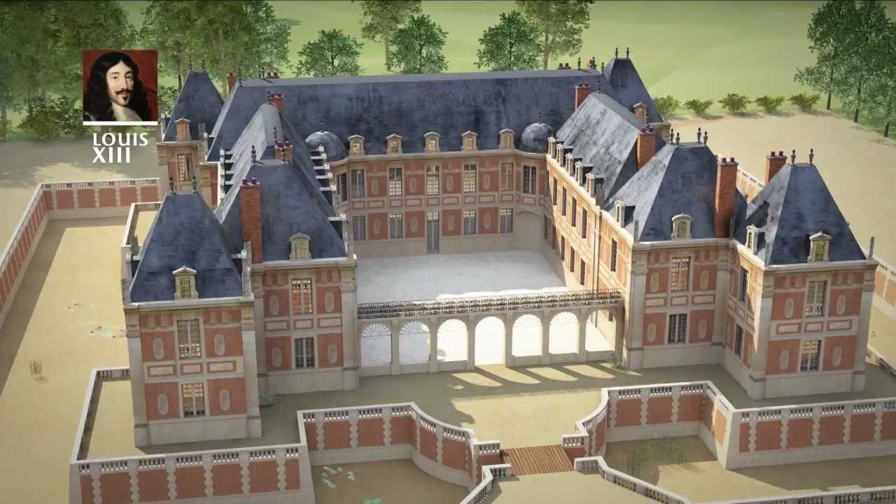An Animated History of Versailles: Six Minutes of Animation Show the Construction of the Grand Palace Over 400 Years