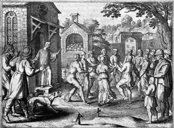 The Strange Dancing Plague of 1518: When Hundreds of People in France Could Not Stop Dancing for Months