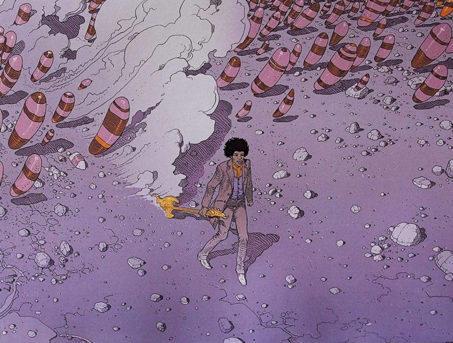 Obviously a huge Hendrix fan, Moebius is in many ways as responsible for the psychedelic space race of the 1970s as the guitarist himself.