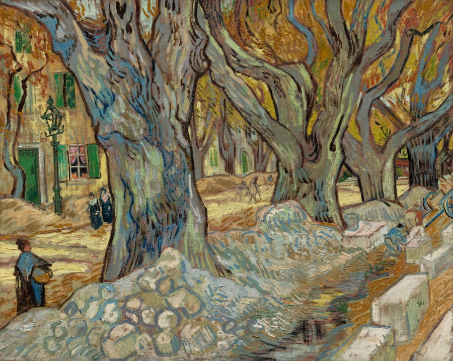 The Cleveland Museum of Art Digitizes Its Collection, Putting 30,000 Works Online and Into the Public Domain Artes & contextos VanGogh PlaneTrees
