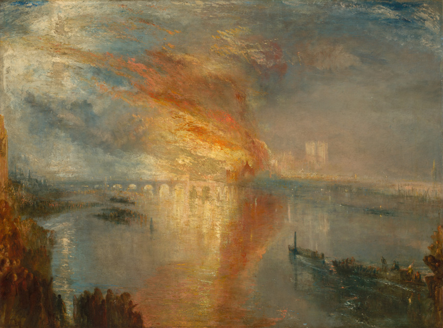 The Cleveland Museum of Art Digitizes Its Collection, Putting 30,000 Works Online and Into the Public Domain Artes & contextos Turner Burning
